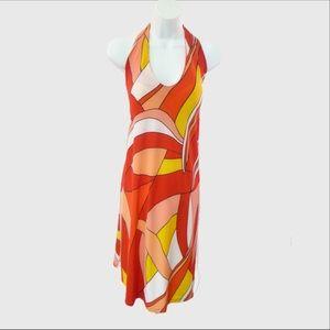 See You In Miami Designer Halter Maternity Dress